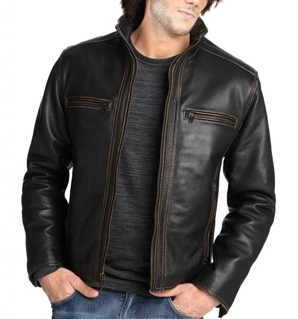Handmade leather jackets