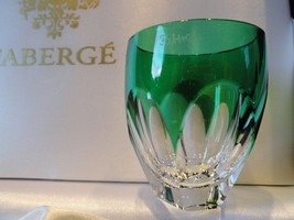 Faberge Lausanne Emerald Green  Vodka Shot Glass without  the box - $193.05