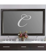 "Custom Script Wedding Letter Frosted Etched Glass Vinyl Sticker Decal 25""h - $27.99"