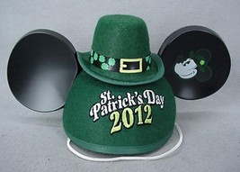 Mickey Mouse St Patrick's Day 2012 Ears - NWT NEW - $14.95