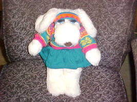 "15"" FiFi La Femme Plush Toy Wearing Ski Outfit W/Tags From Le Mutt By Er... - $93.49"