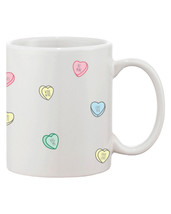 Cute Valentine's Day Gift Ceramic Coffee Mug - Valentine Sweethearts Can... - $14.99
