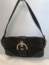 Authentic Coach Black Signature LOGO Purse No # 3628. Z3 - $19.80