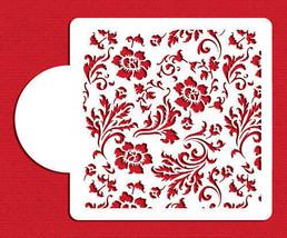 Chic Rose Miniprint Cake Stencil - $9.00