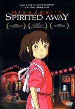 (Used) Studio Ghibli Spirited Away 2-Disc Set DVD + Insert - $7.99