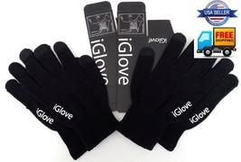 iGlove 2 pair magic touch screen i phone i pad text warm stretch iGloves... - $214,44 MXN