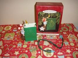 Hallmark 1997 Chris Mouse Luminaria Lighted Ornament - $13.49