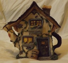 Boyds Bear Resin Ms Martha's Garden Cottage - $12.99