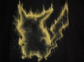 "TeeFury Pokemon MEDIUM ""Electric Type"" Pokemon Silhouette Shirt BLACK - $21.00"