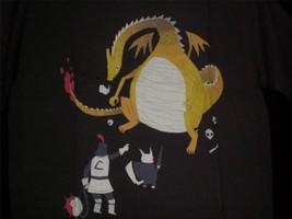 """TeeFury Pokemon YOUTH XL """"Catcheth Them All"""" Monty Python Mash Up BROWN - $11.00"""