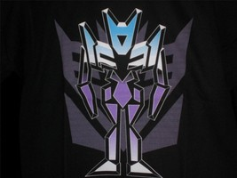 "TeeFury Transformers YOUTH XL ""Logos In Disguise-Foes"" shirt BLACK - $11.00"