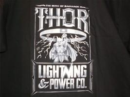 """TeeFury Thor XLARGE """"Lightning Power Co"""" Thor the Hero of Ragnarok Tribu... - $14.00"""