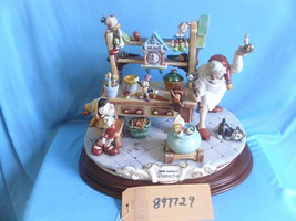 Disney Pinocchio & Gepetto Workshop Capodimonte  Laurenz C.O.A Reconditioned - $1,695.00