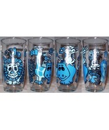 Sour Cream Glass Zoo Blue - $10.00