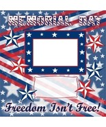 Memorial Day Digital Scrapbookng Quick Page Layout - $3.00