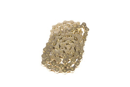 """KMC Z410 1/2"""" X 1/8"""" GOLD BMX FIXED GEAR BICYCLE CHAIN - €9,34 EUR"""