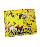 Pokemon Pikachu  Yellow Bifold Wallet—More Fun  Character Wallets Availa... - $12.47