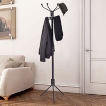 Coat Stand Hat Jacket Rack Metal Hanger Tree Hooks Umbrella Entryway Hom... - $21.24