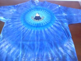 Big Sky Montana Lone Peak BreweryTie dyed Logo T-shirt - $19.00