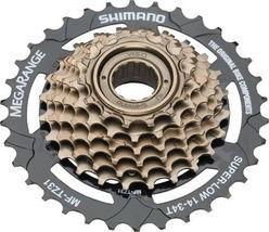 SHIMANO MEGARANGE 7 SPEED MF-TZ31----14-34T BROWN MTB-CRUISER BICYCLE FR... - €14,64 EUR