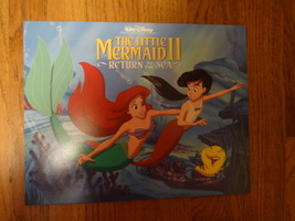 Little Mermaid Ii Return To The Sea Lithograph Set Melody - $8.00