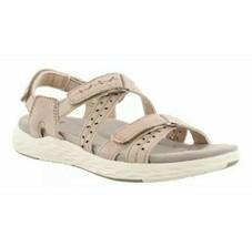Earth Origins Sandals Sz 10W 10 Wide Blush Pink Westfield Wendy Suede Ad... - $72.51