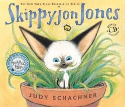 Skippyjon Jones by Judy Schachner HC (2003, Hardcover with CD) - $12.50