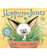 Skippyjon Jones by Judy Schachner HC (2003, Hardcover with CD) - $12.50