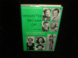 Whatever Became Of...? by Richard Lamparski 1973 Fourth Series Movie Book - $15.00
