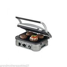 Cuisinart Kitchen Grills Griddler Panini Press Grill Nonstick Countertop... - £102.18 GBP