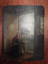 Antique 1700's - 1800's Painting on Wood Board - $1,500.00