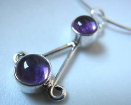 Amethyst Dbl Gem 925 Sterling Silver Necklace Corona Sun Jewelry Purple New - €15,63 EUR