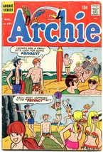 Archie #193 1969-Betty-Veronica-Jughead- surfing surfboard cover G/VG - $24.83