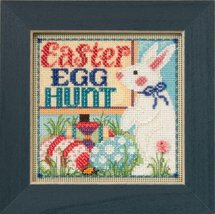 Egg Hunt Spring Mill Hill 2015 Button and Beads kit Mill Hill  - $12.60