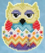 Kiwi Owlets Spring 2015 Charmed Ornament beaded kit Mill Hill - $6.75