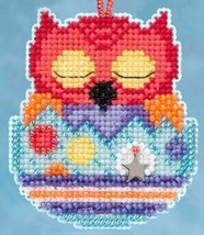 Huey Owlets Spring 2015 Charmed Ornament beaded kit Mill Hill - $6.75