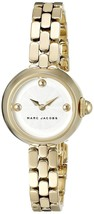 Marc Jacobs Women's MJ3457 Courtney Gold-tone Stainless Steel Watch - $149.20
