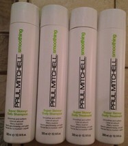 Paul Mitchell Super Skinny Daily Shampoo Daily Treatment Set 10.14 oz (4 pack) - $40.59