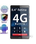 "8.4"" IPS Retina Cube X1 4G Tablet PC Android 7 4GB 64GB Fingerprint 2.4/... - $224.99"