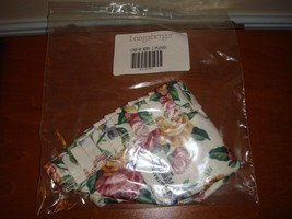 Longaberger Medium Berry Liner, Garden Splendor, NIP - $12.79