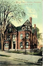 Young Womens Christian Alliance Home Utica New York 1911 Post Card - $6.00