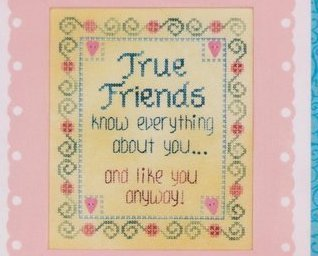 True Friends Moon-Lite series cross stitch chart Waxing Moon Designs