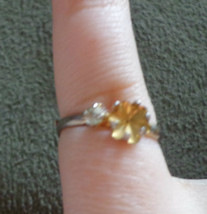Vintage Gold Toned Ring Setting - $0.99