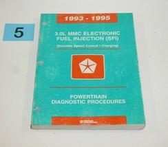 1993-1995 Chrysler Dodge 3.0L MMC Electronic Fuel Injection SFI Service Manual 5 - $12.82