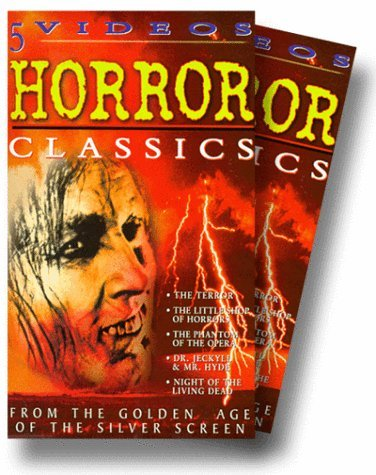 Horror classics collection 5 pack vhs ep 2000 5 tape for House classics 2000