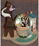 "1999 Pepe Le Pew  ""Le Flower Ze Tower L'Amore"" Large Water Globe Limited... - $324.99"
