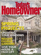 Today's Homeowner Magazine May 1998 - $5.50