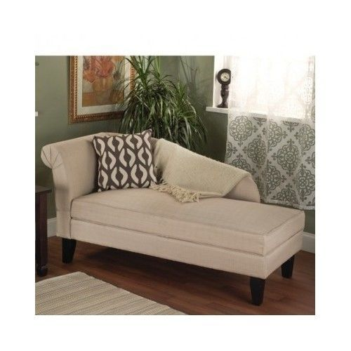 chaise lounge chair storage modern furniture linen sofa