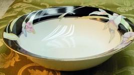 Charisma Black By Mikasa China Vegetable Serving Bowl - $37.39