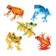 "Beistle Mini Frog Cutouts 4.5"" (10 Count)- Pack of 24 - $46.05"